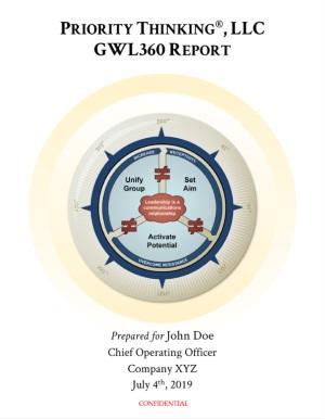 GWL360 Leadership Assessment Report