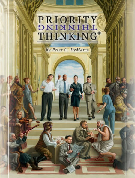 Priority Thinking Book Cover
