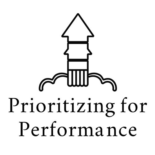 Prioritizing for Performance Organizational Development Program Logo