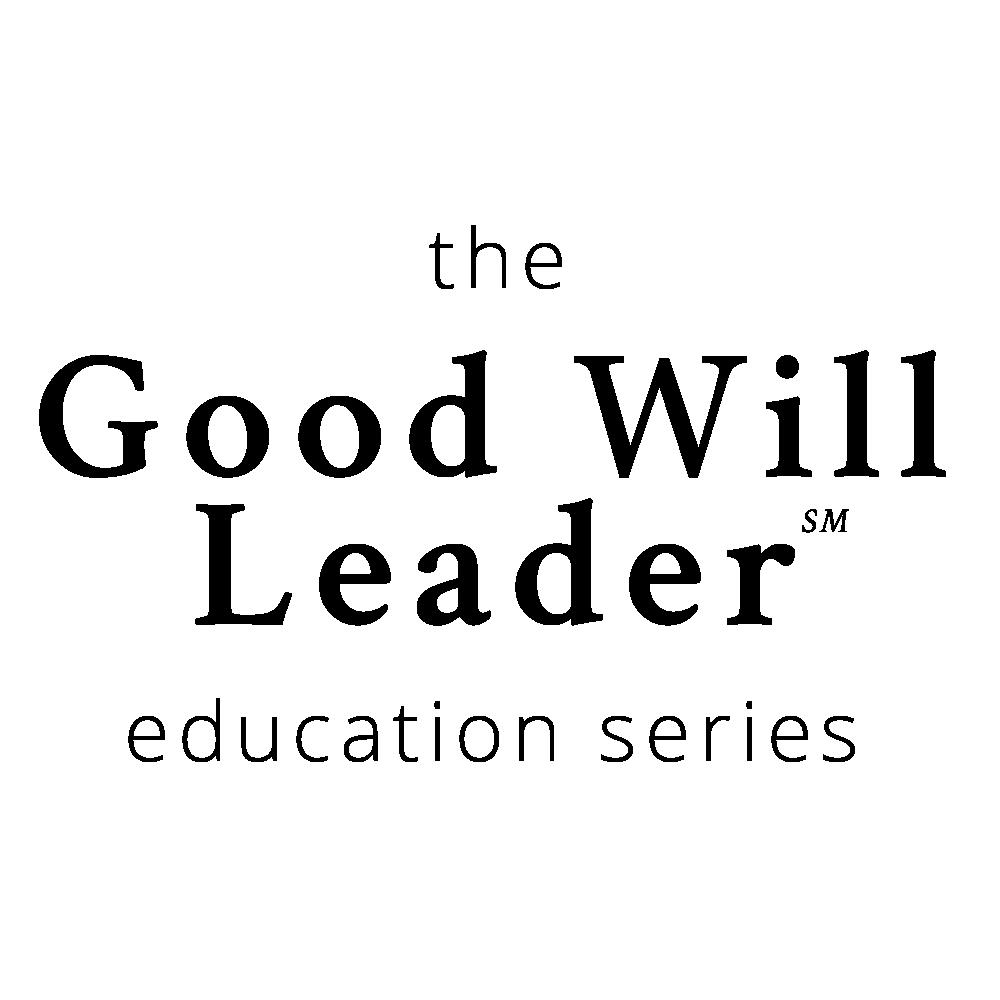 Good Will Leader Education Series Leadership Coaching Program Logo